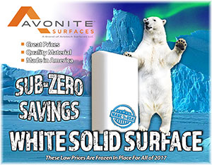 Avonite White Sale