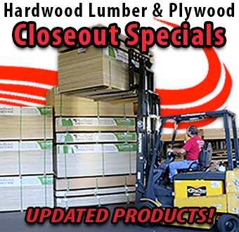 Lumber Closeout Specials