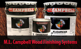 M.L. Campbell Wood Finish
