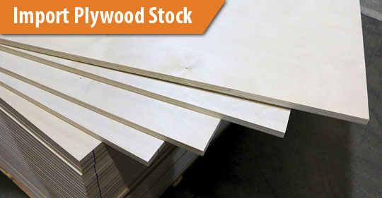 Imported Plywood China Birch Plywood